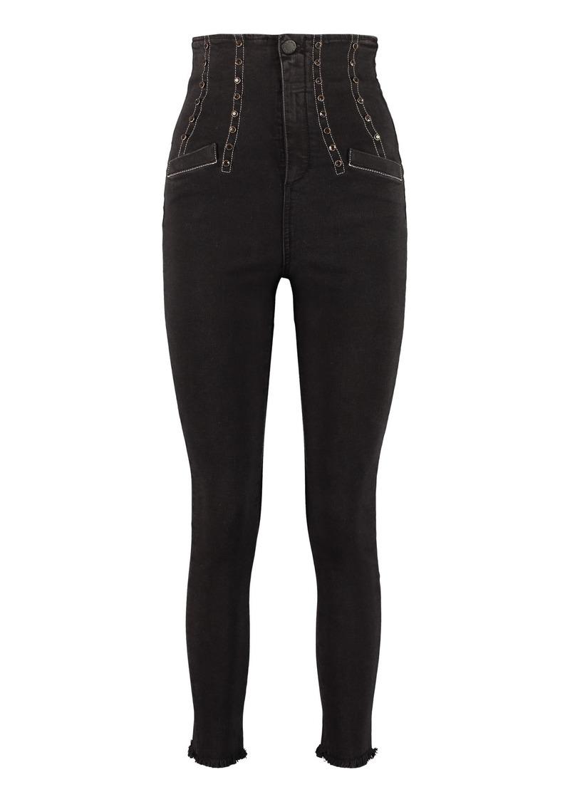 Pinko Skye High-rise Skinny Jeans