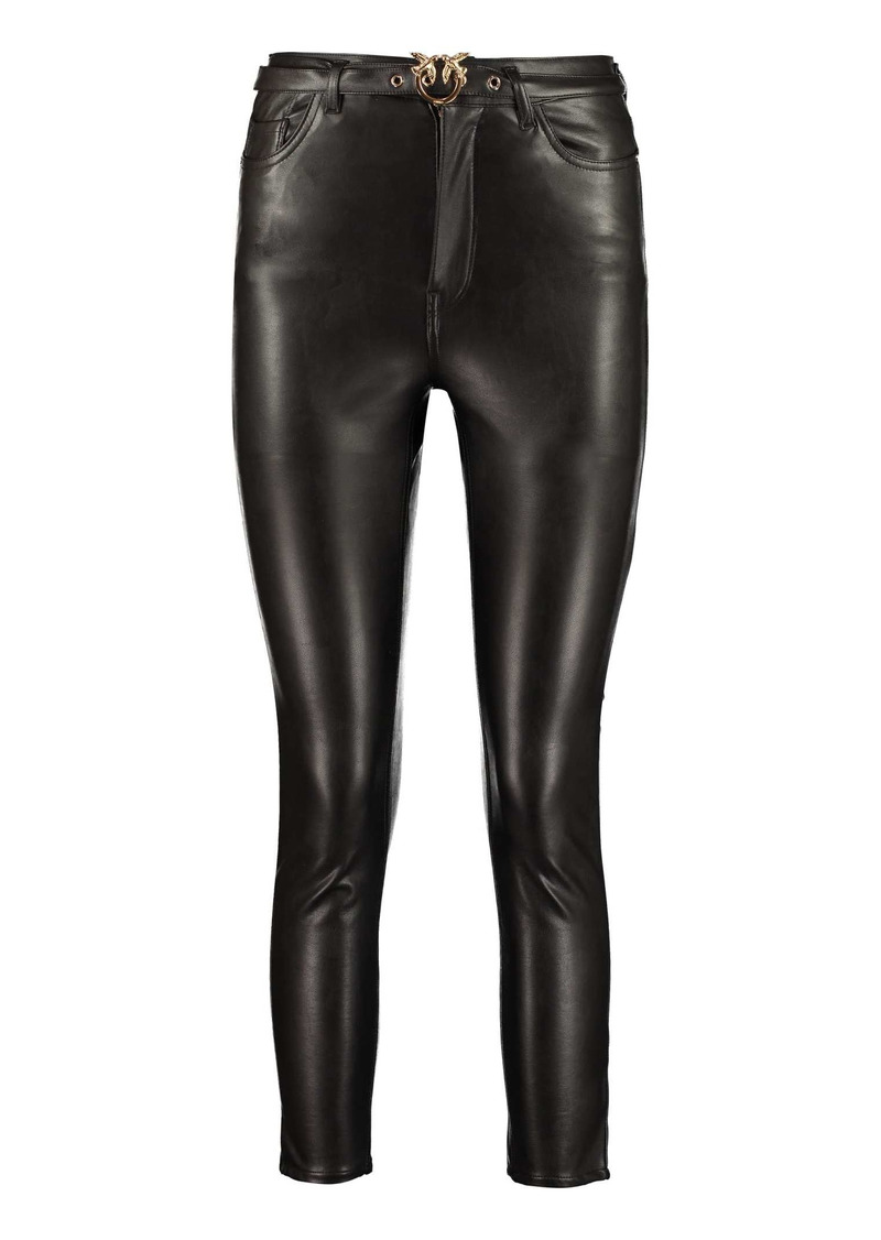 Pinko Susan Faux Leather Trousers
