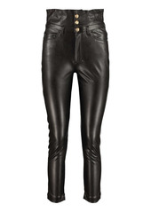 Pinko Suzie Faux Leather Trousers
