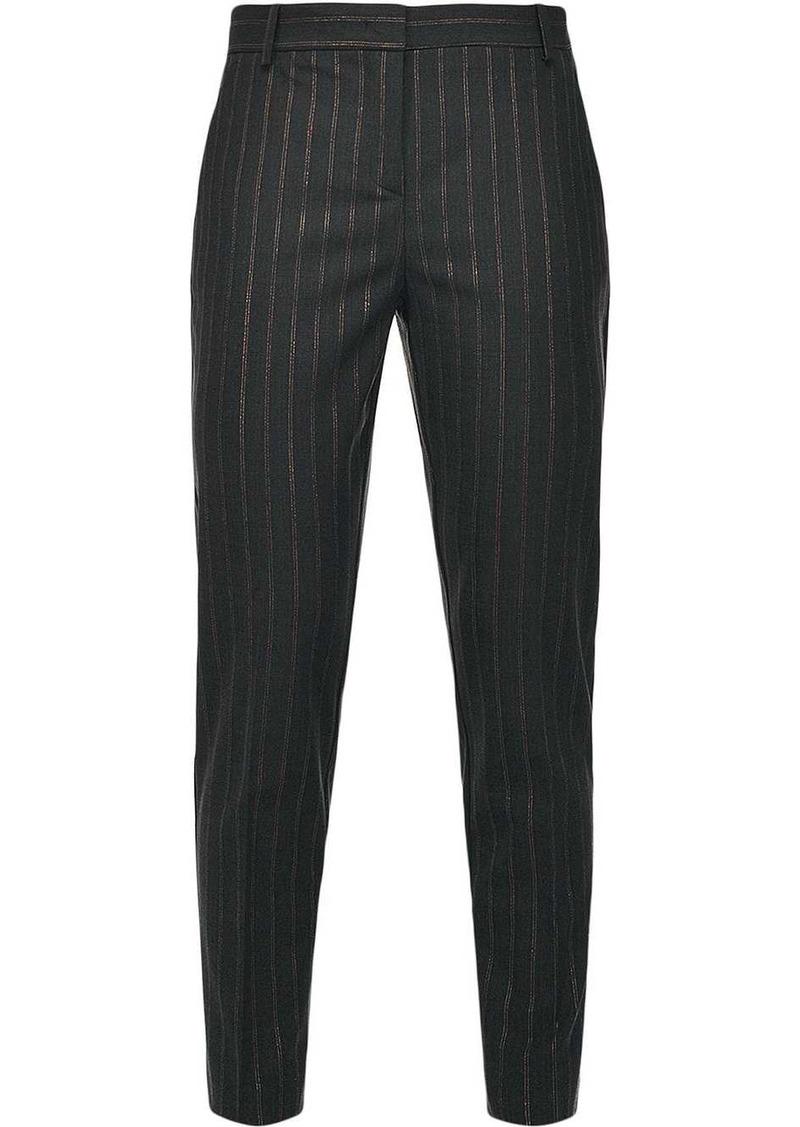 Pinko pinstripe straight-leg trousers