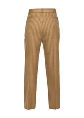 Pinko pinstripe tapered trousers