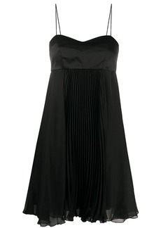 Pinko pleated chiffon dress