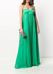 Pinko pleated maxi dress