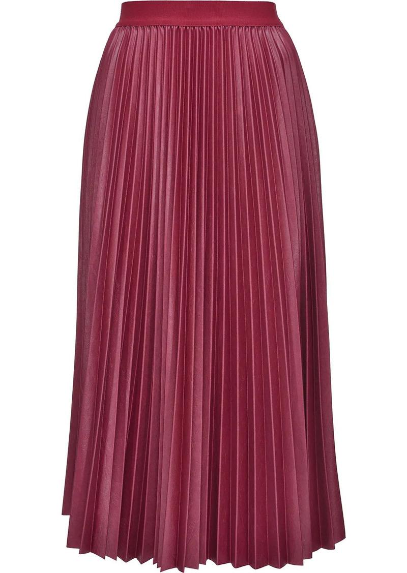 Pinko pleated mid-length skirt