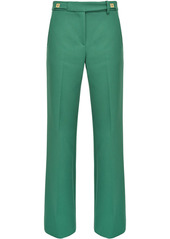 Pinko pleated straight-leg trousers
