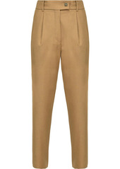 Pinko pleated tapered trousers