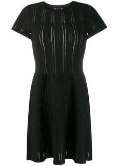 Pinko ribbed-knit mini dress