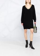 Pinko ring-detail jumper dress