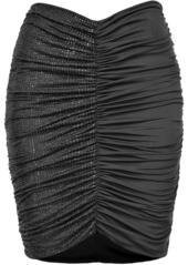 Pinko ruched embellished skirt