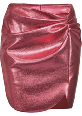 Pinko ruched fitted skirt