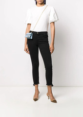 Pinko Sabrina mid-rise cropped jeans