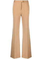 Pinko scuba-effect flared trousers