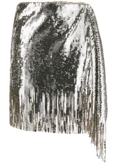 Pinko sequin asymmetric skirt
