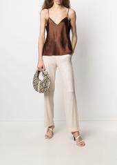 Pinko sequin-embellished drawstring-fastening trousers