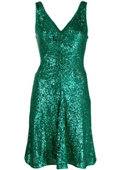 Pinko sequin-embellished mini dress