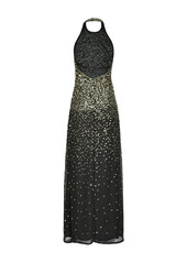 Pinko sequinned evening dress