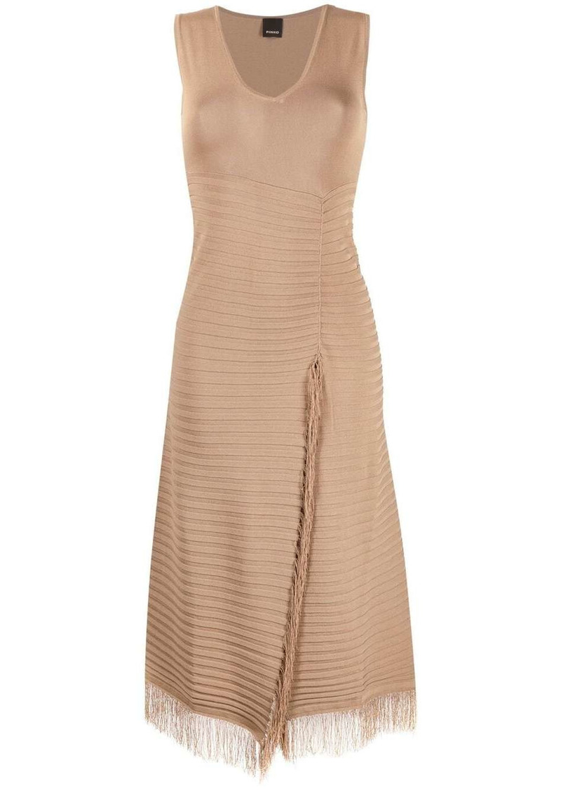 Pinko sleeveless fitted dress
