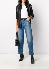Pinko star-studded mom jeans