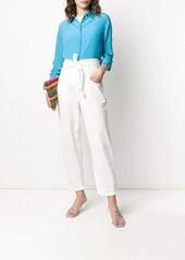 Pinko Straight-Fit Belted jeans