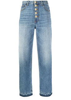 Pinko high-rise straight-leg jeans