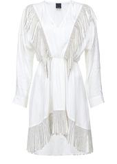 Pinko stud-embellished fringe dress