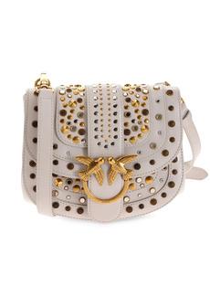 Pinko studded saddle bag