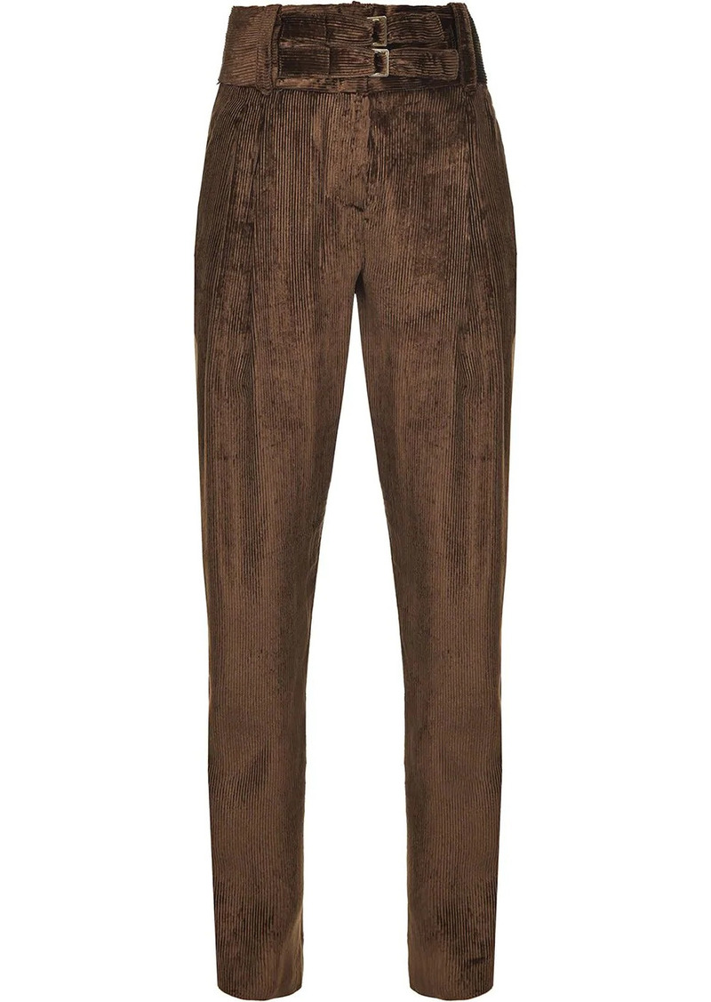 Pinko tapered corduroy trousers