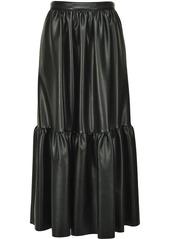 Pinko tiered zip-up skirt