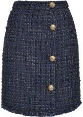 Pinko tweed buttoned skirt