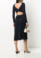 Pinko twist back knit dress