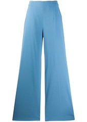 Pinko wide-leg flared trousers