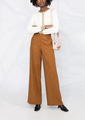 Pinko wide-leg high-waisted trousers