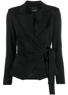 Pinko wrap front blazer