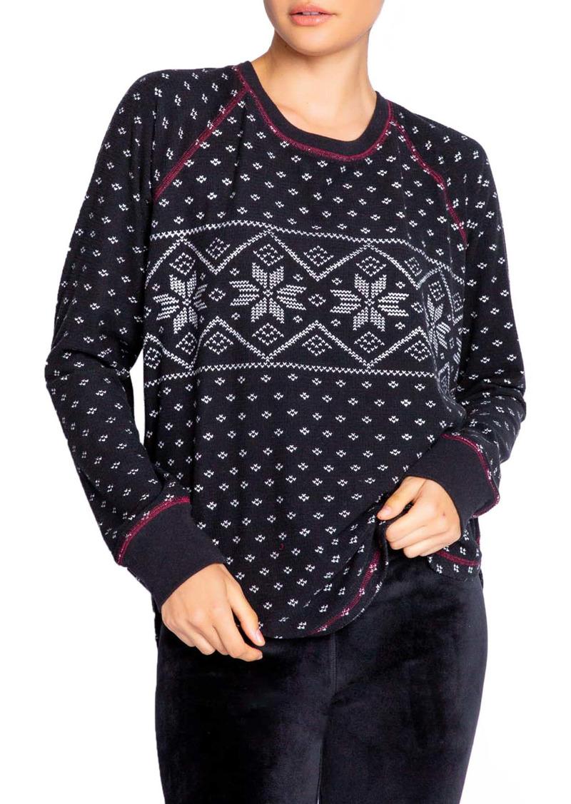 PJ Salvage Alpine Pajama Top