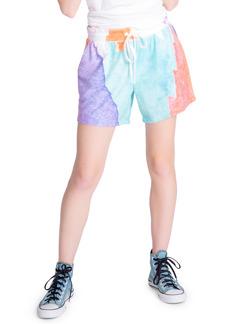 PJ Salvage Art Tie Dye Shorts