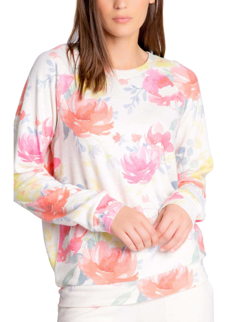 PJ Salvage Blooms Pullover