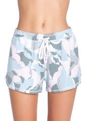 PJ Salvage Camo Bloom Sleep Shorts