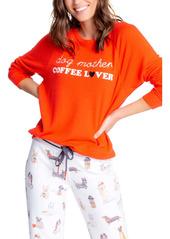PJ Salvage Coffee & Canine Long Sleeve Graphic Sweatshirt