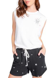 PJ Salvage Embroidered Sleep Shorts
