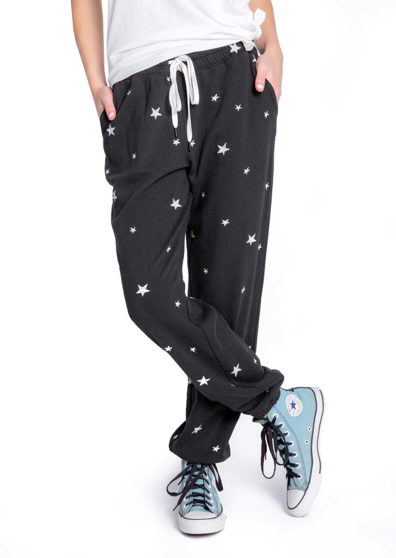 PJ Salvage Embroidered Star Lounge Joggers