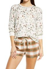 PJ Salvage Floral Print Pajama Top