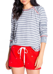PJ Salvage Joyful Stripe Pajama Top