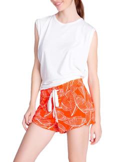 PJ Salvage Leaf Dreams Jersey Pajama Shorts
