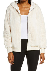 PJ Salvage Love Life Hooded Faux Fur Jacket