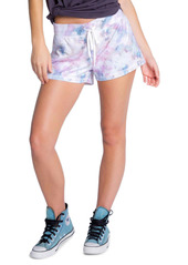PJ Salvage Marble Print Lounge Shorts