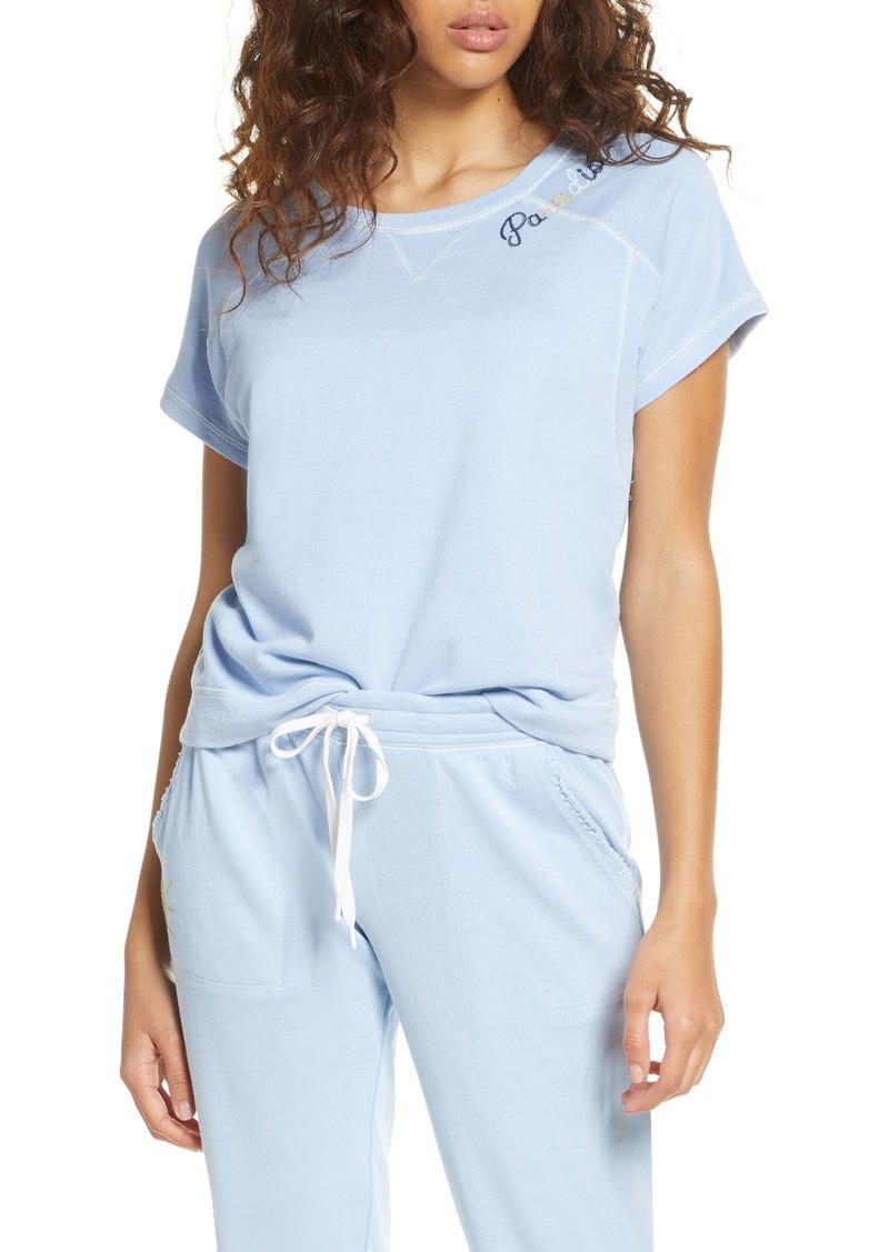 PJ Salvage Paradise Pigment Dye Pajama Top