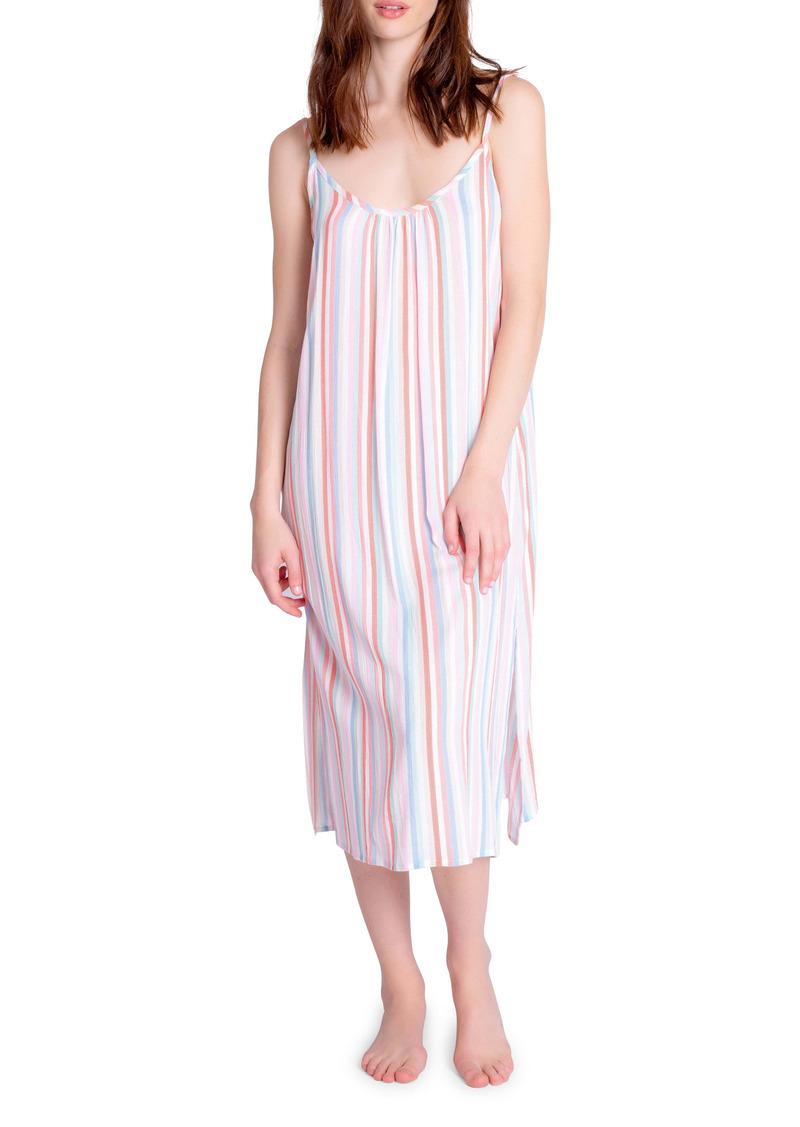 PJ Salvage Sat More Stripe Nightgown