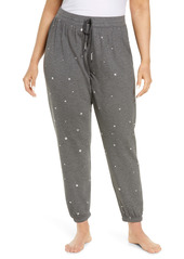 PJ Salvage Star Fleece Joggers (Plus Size)