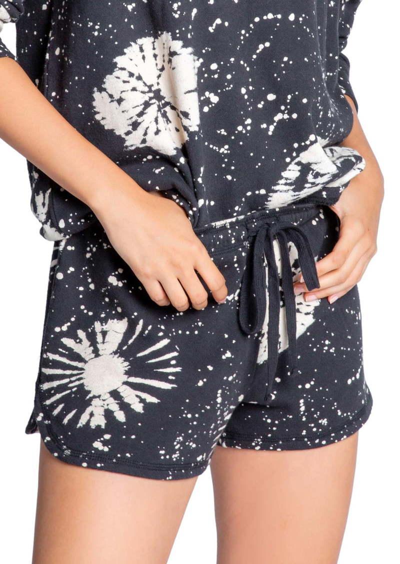PJ Salvage Stormy Tie Dye Lounge Shorts