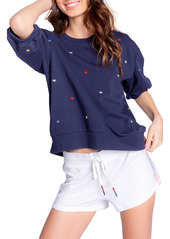 PJ Salvage Stripe Lounge Shorts